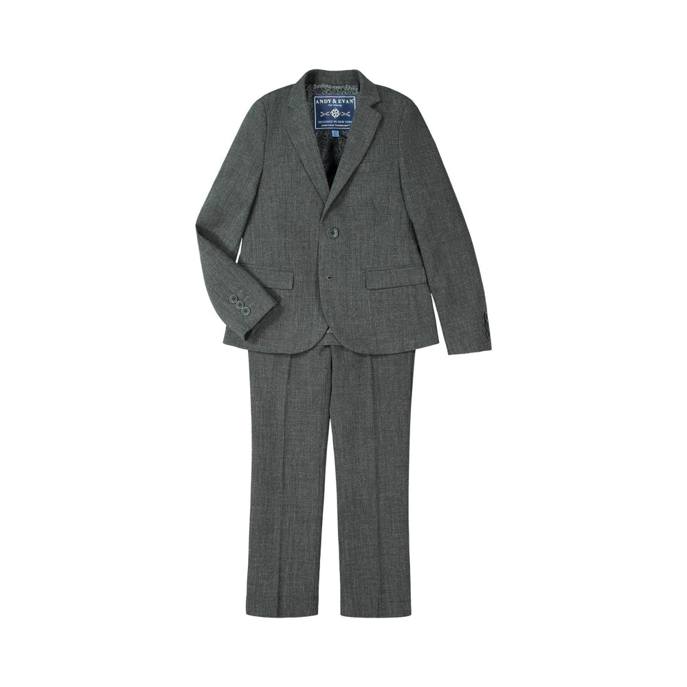 Grey ComfyFlex™  Stretch Suit - Andy & Evan