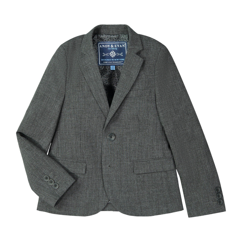 Grey Stretch Suit with Comfy-Flex Technology™ - Andy & Evan