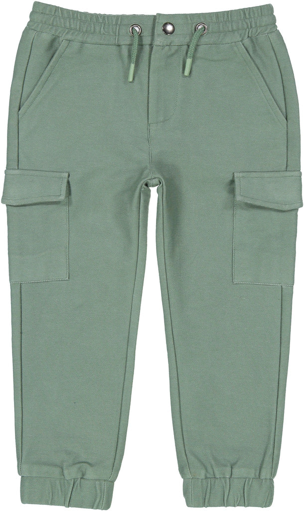 Dark Green Drawstring Jogger Pants - Andy & Evan