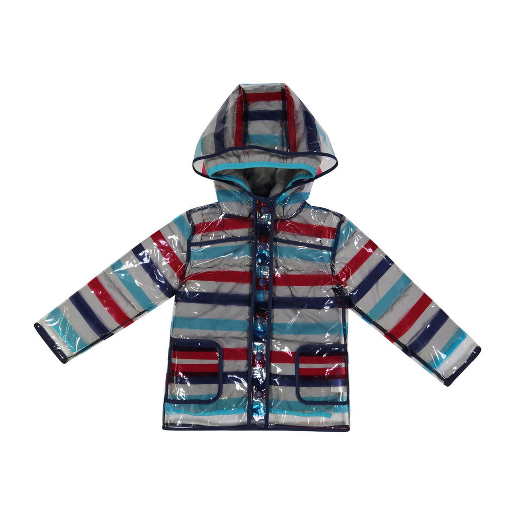 Infant Boy Peek-Through™ Jacket - Striped - Andy & Evan