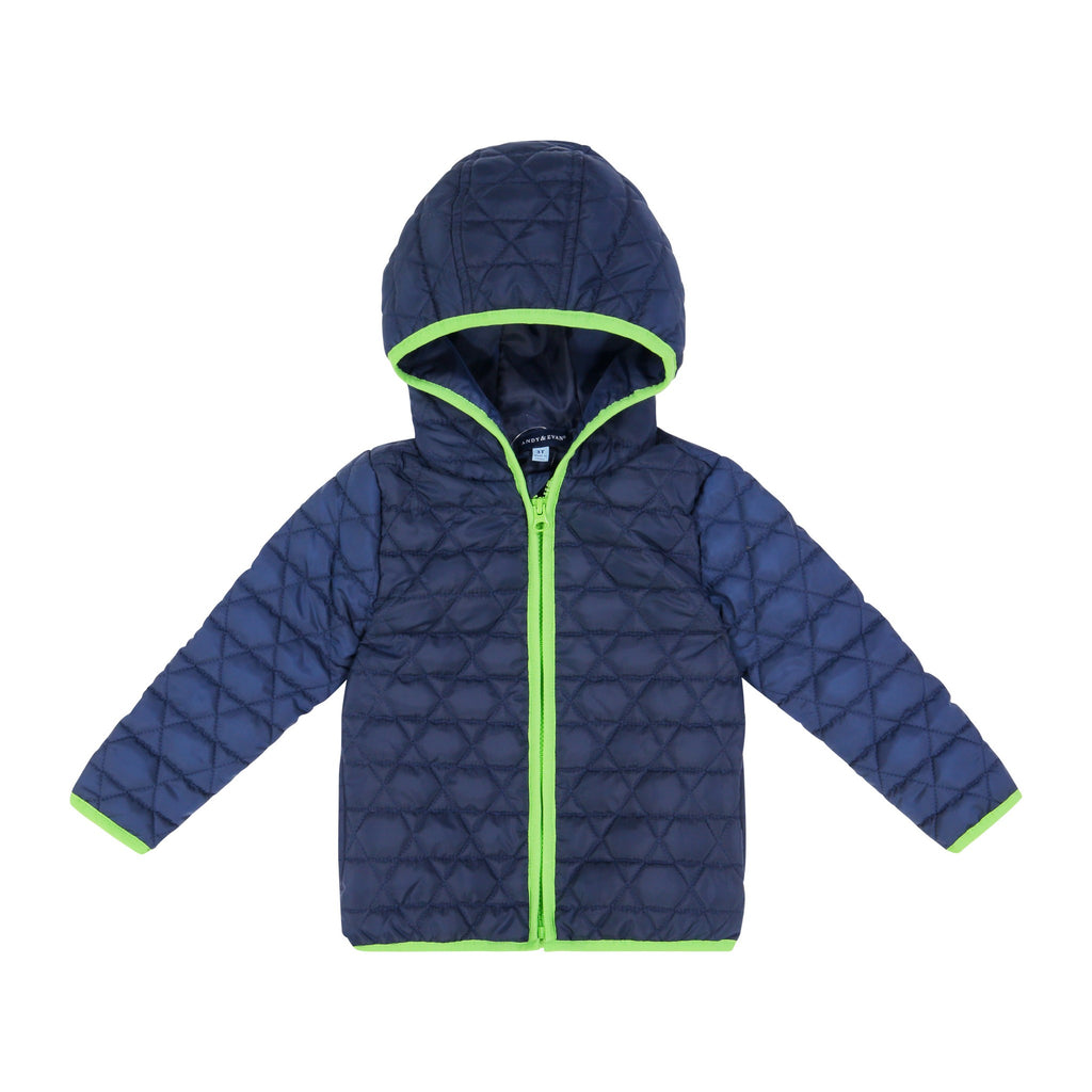 Peek-Through® Jacket - Navy Dino - Andy & Evan