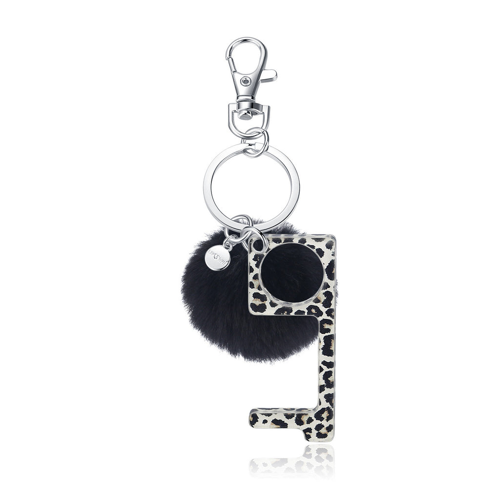 No Touch Key Chain - Leopard - Andy & Evan