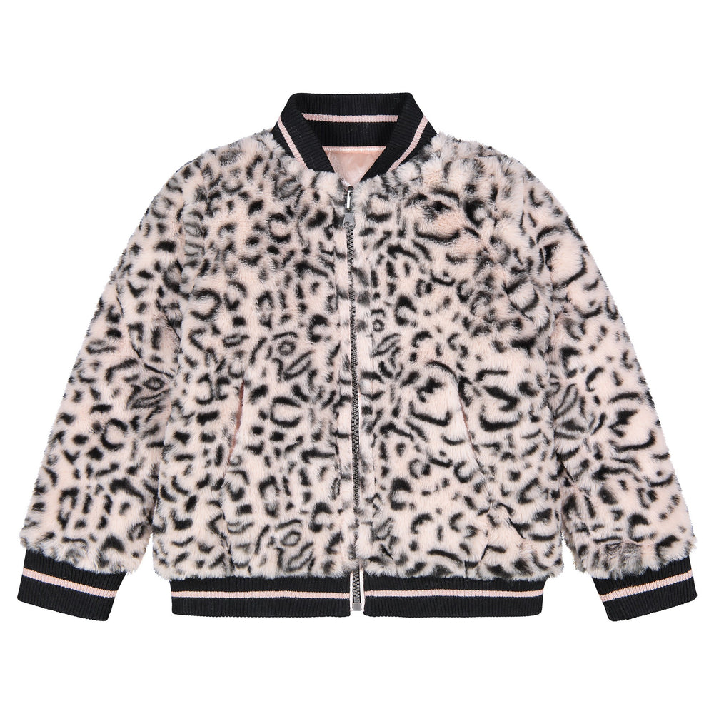 Infant Girls Reversible  Bomber Jacket - Andy & Evan