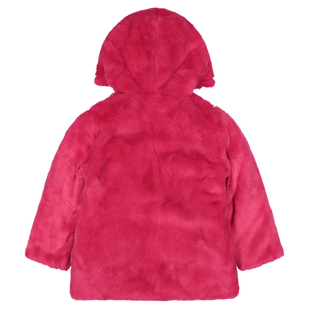 Girls Reversible Rainbow Star Puffer Coat - Andy & Evan