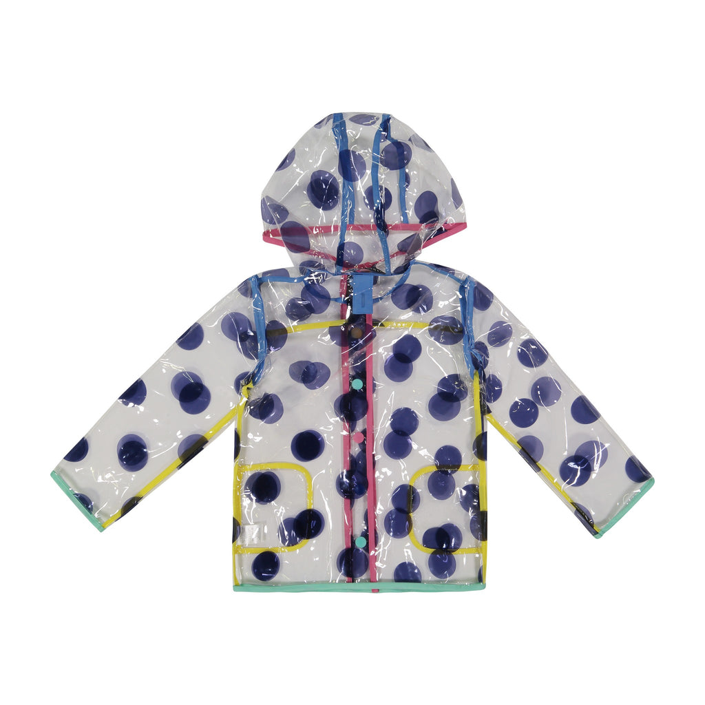 Infant Girl Polka Dotted Peek-Through Jacket - Andy & Evan