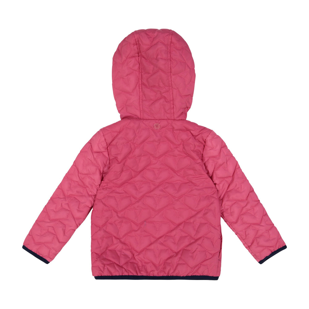 Infant Girl Polka Dotted Peek-Through Jacket