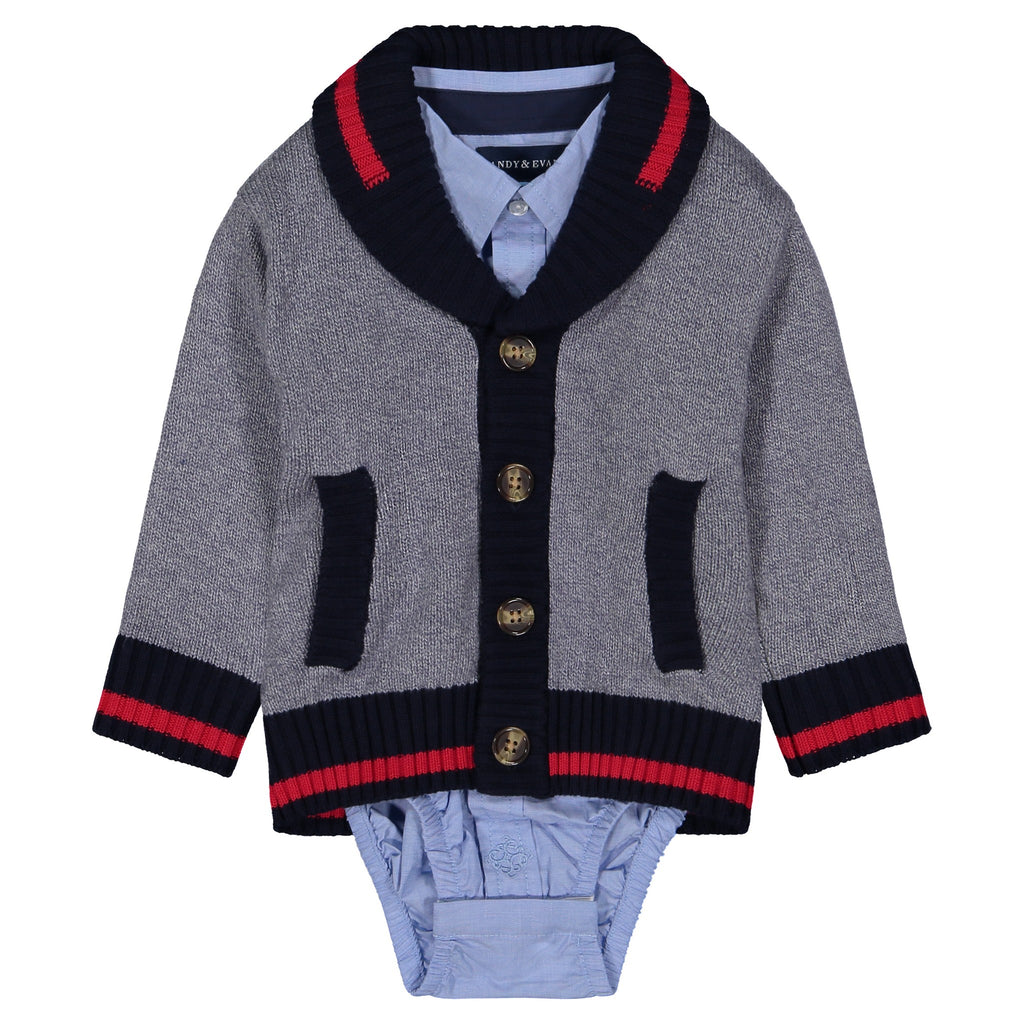 Infant Boys 3 Piece Sweater Set - Andy & Evan