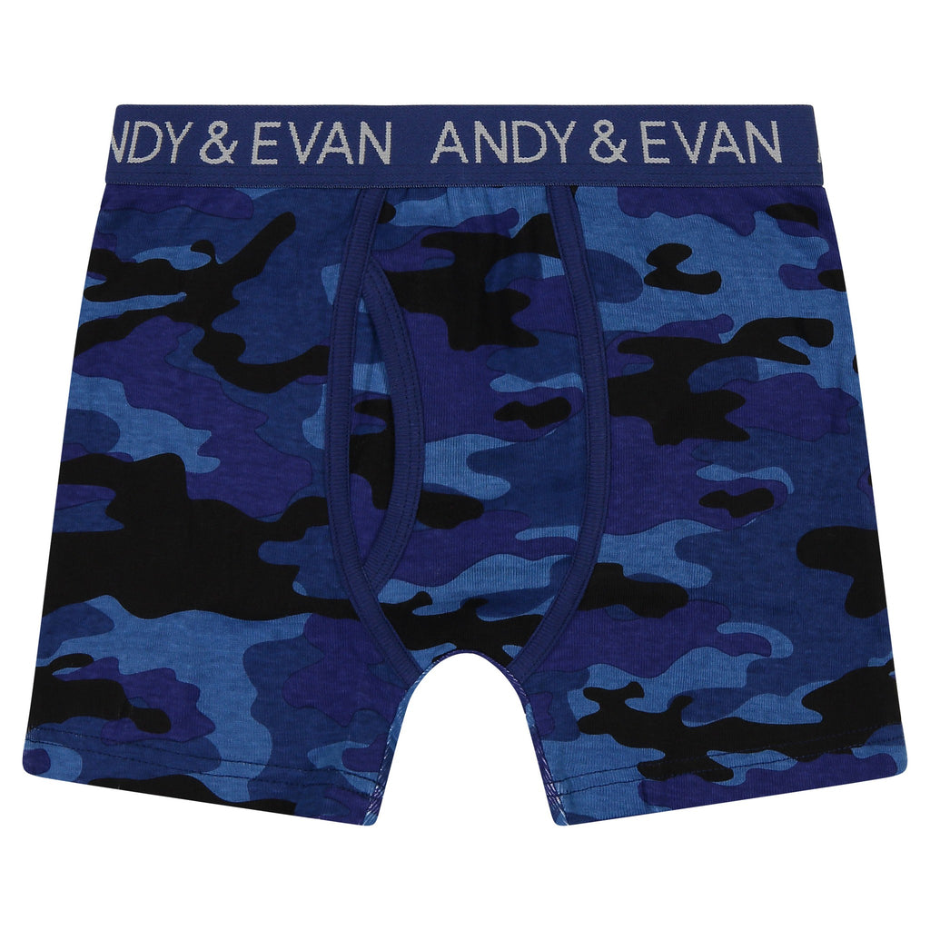 Boys Five Pack Boxer Briefs - Series 1 - Andy & Evan