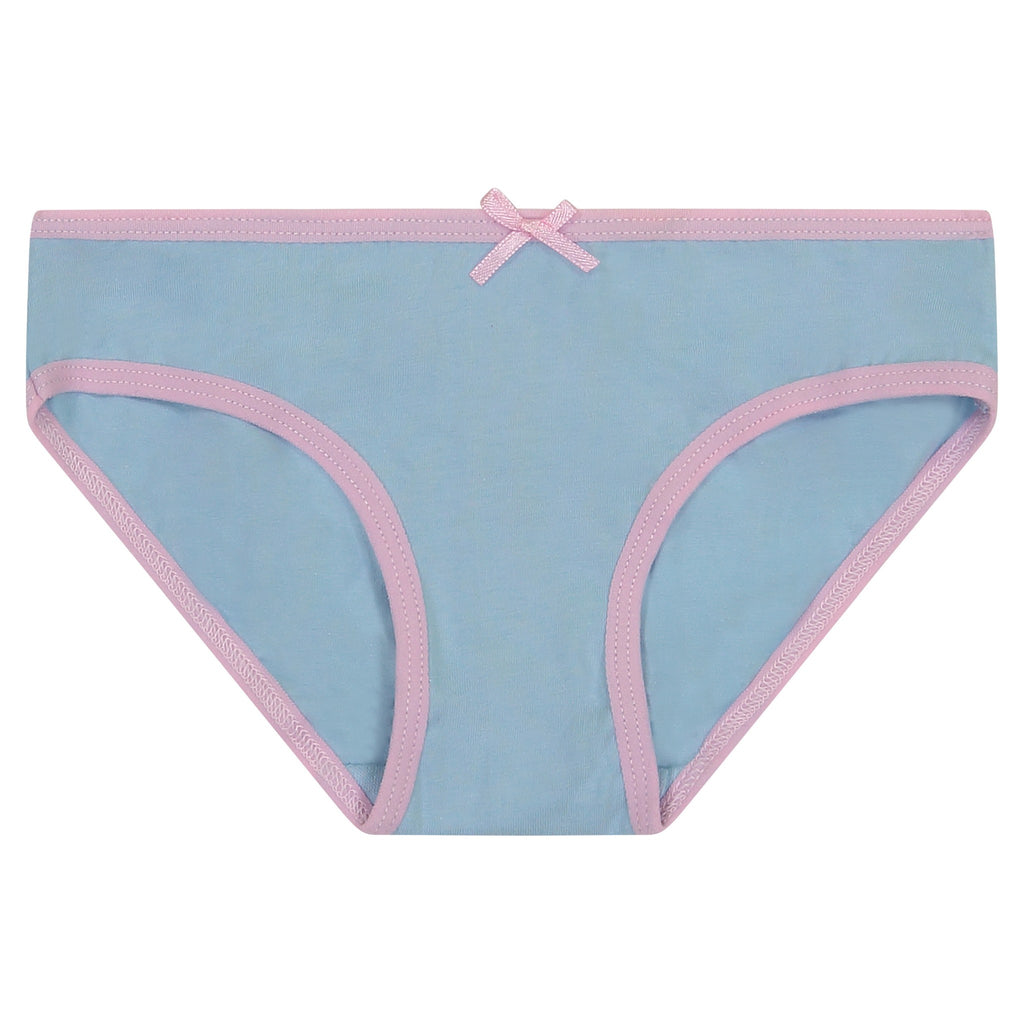 Girls Eight Pack Bikini Brief - Unicorn Series - Andy & Evan