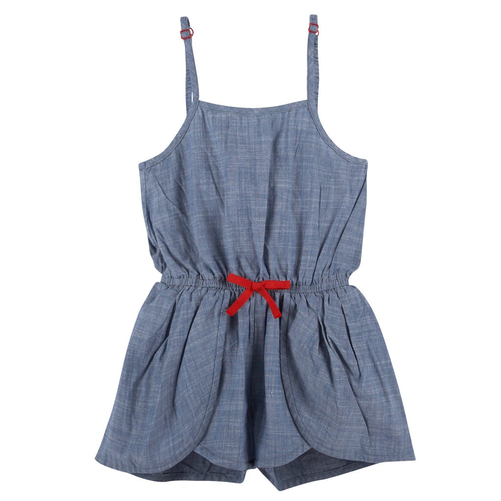 Chambray Romper (NEW! G-Cutee by Andy & Evan) - Andy & Evan