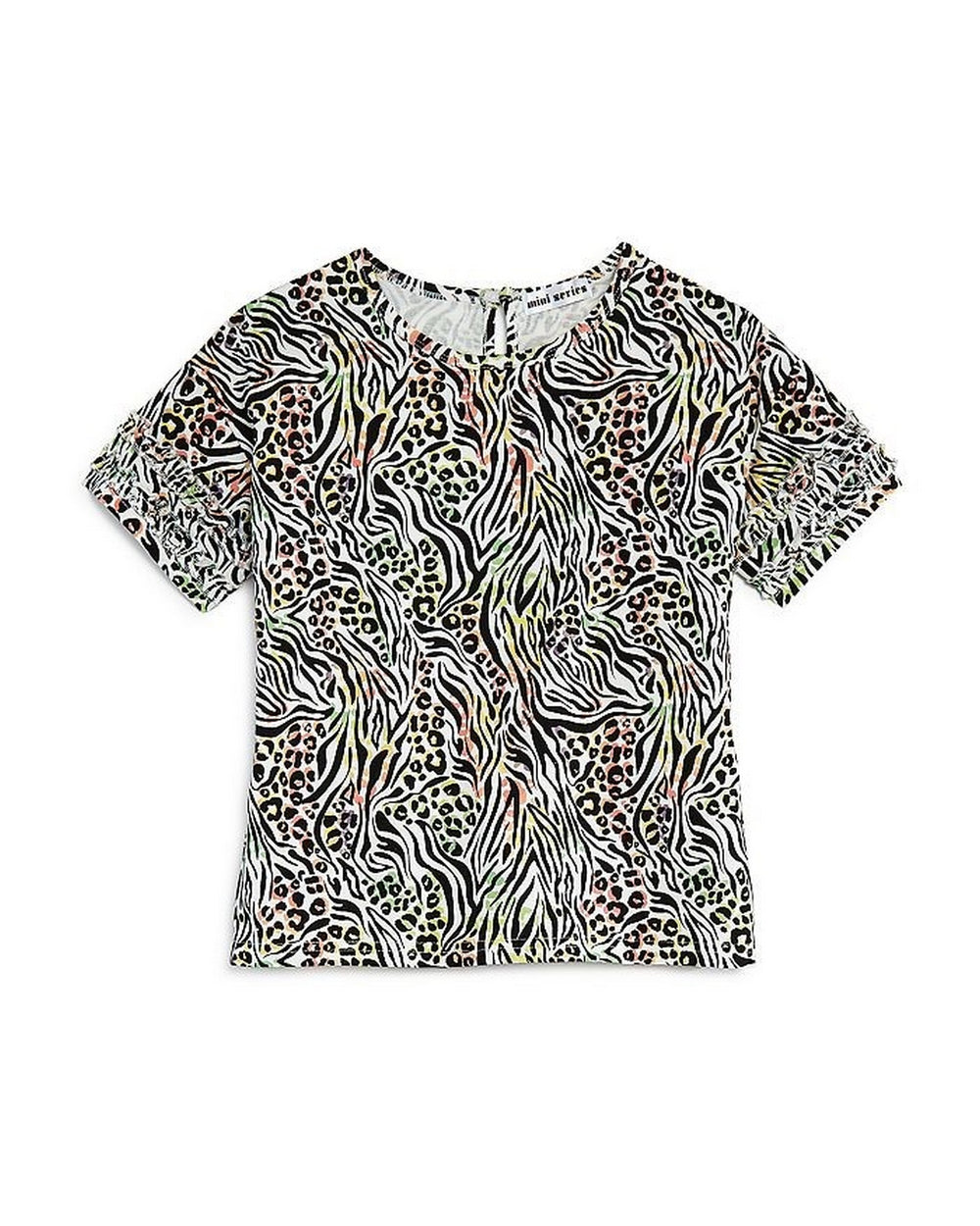 Girls Animal Print Tee - Andy & Evan