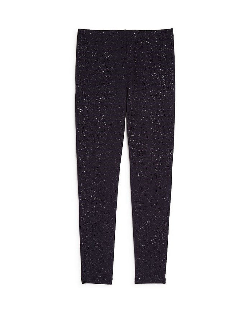 Girls Black Shimmer Legging - Andy & Evan