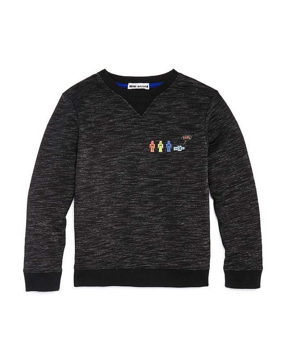 Boys Cool Robot Crewneck - Andy & Evan