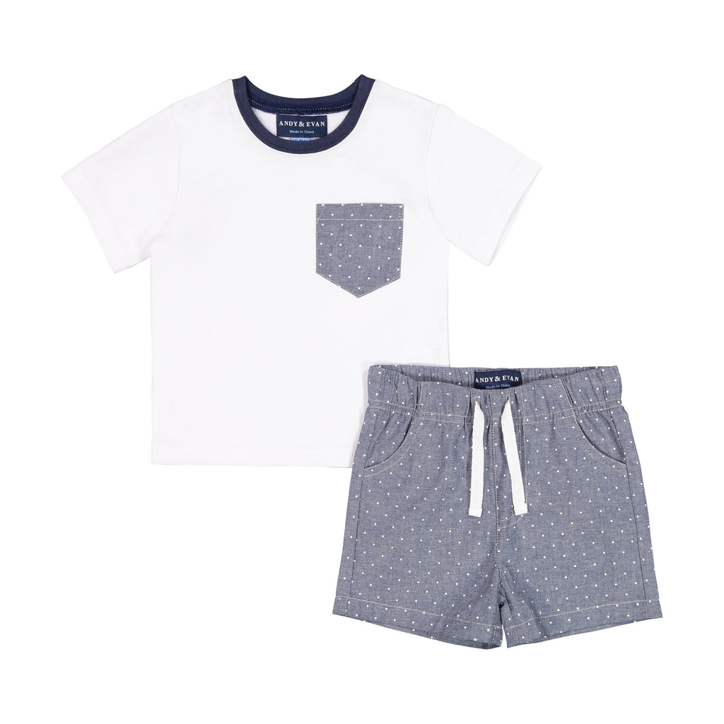 Two-Piece Short Set - Andy & Evan
