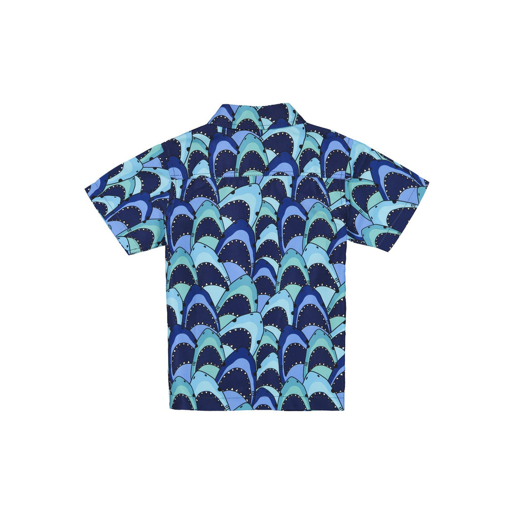Boys Waterproof Shark Swim Shirt - Andy & Evan