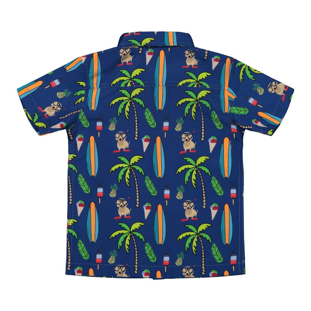 Boy's Waterproof Beach Button Down - Andy & Evan
