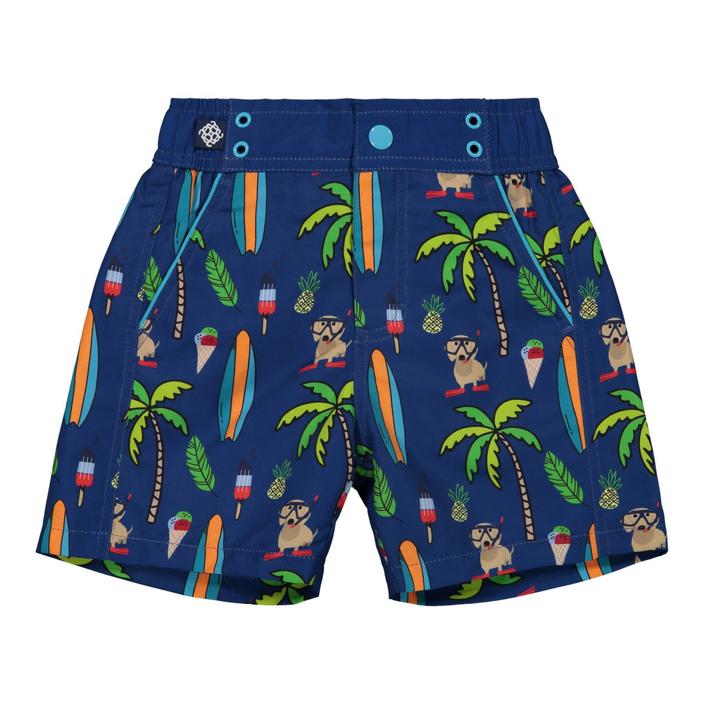 Infant Boy's Cabana Chill Swim Trunk - Andy & Evan