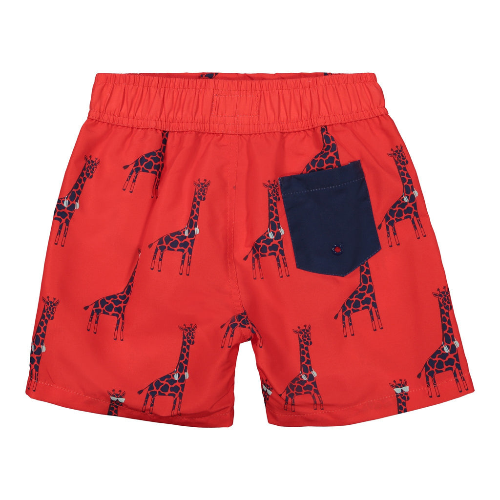 Infant Boys Cool Giraffe Swim Trunk - Andy & Evan