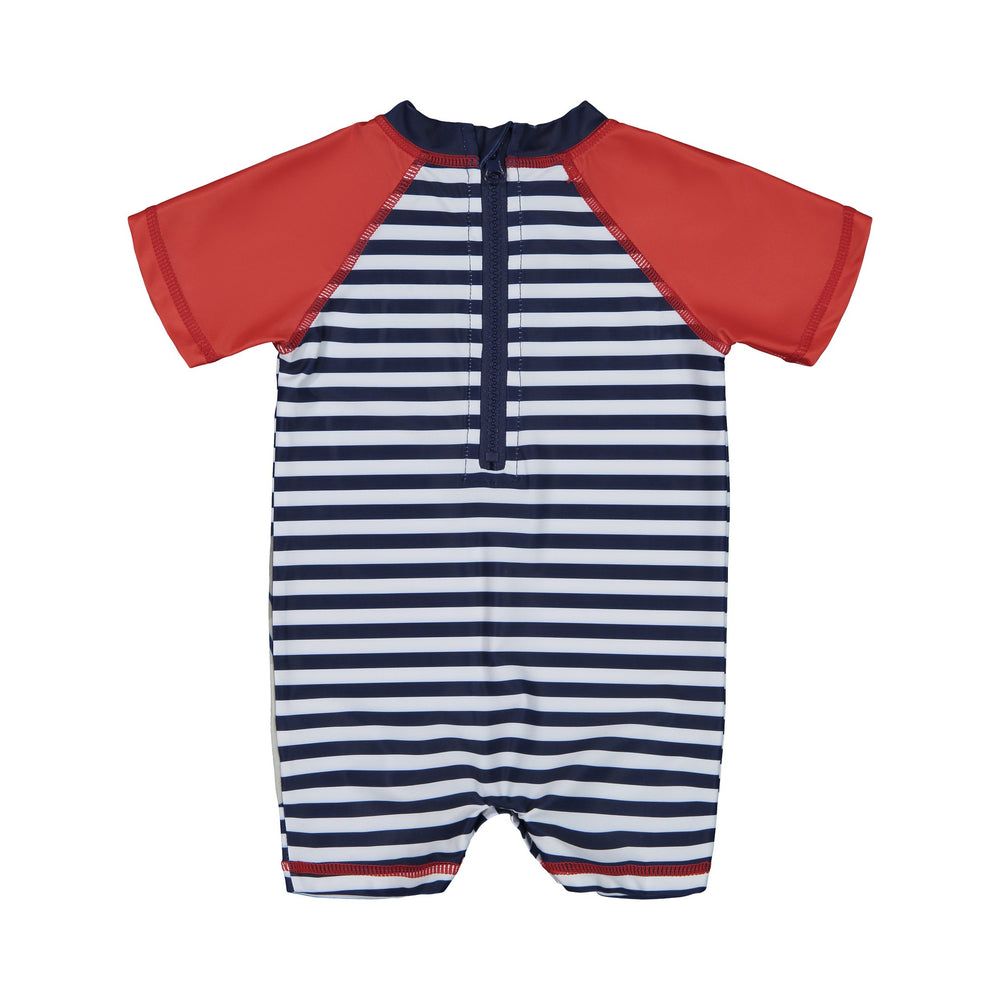 Infant Boy's   Shark One-Piece Rashgaurd - Andy & Evan