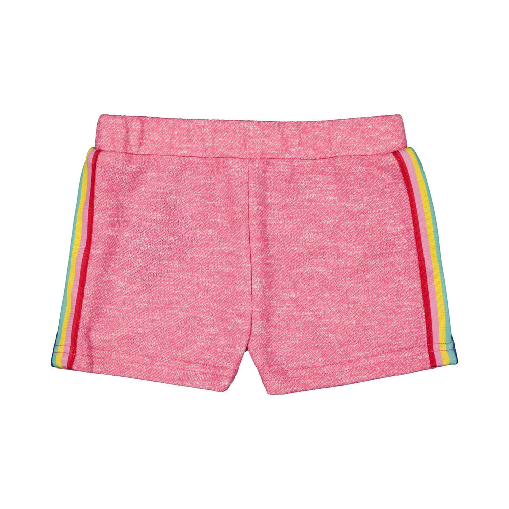 Girl's Pink Sporty Short - Andy & Evan