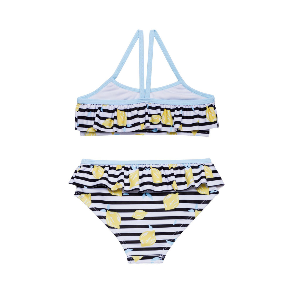 Girl's Striped Lemon Bikini - Andy & Evan
