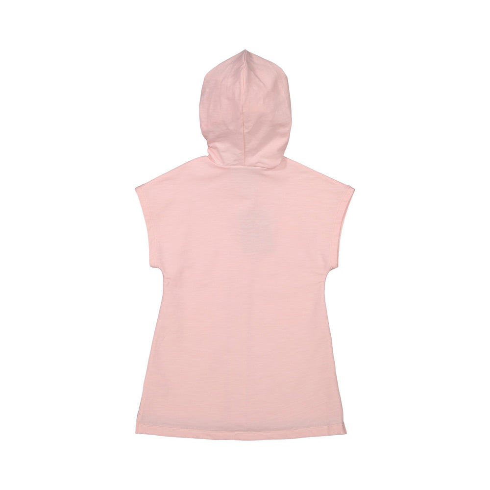 Girl's Pink Sleeveless Flamingo Cover Up - Andy & Evan