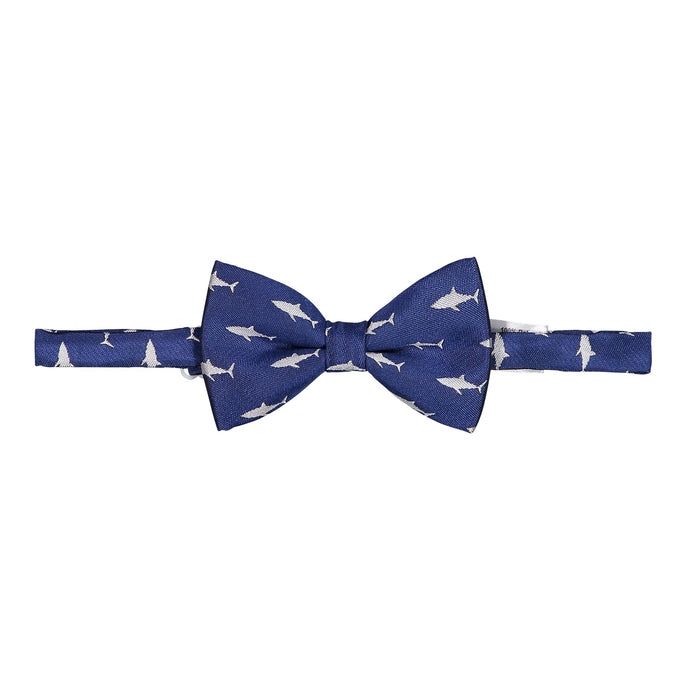 Navy Shark Bowtie - Andy & Evan