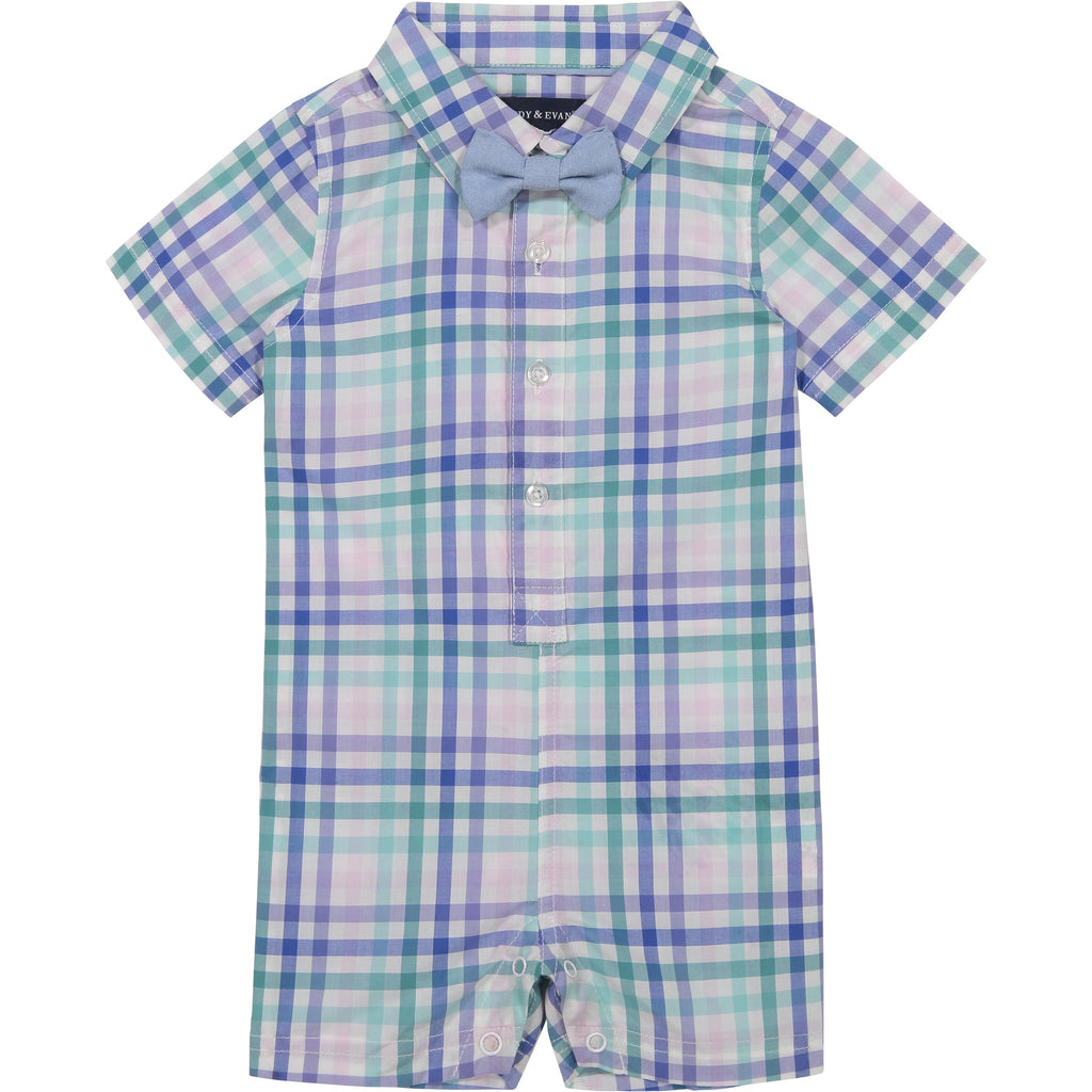 Baby Boys Multi-Gingham Shirtall - Andy & Evan
