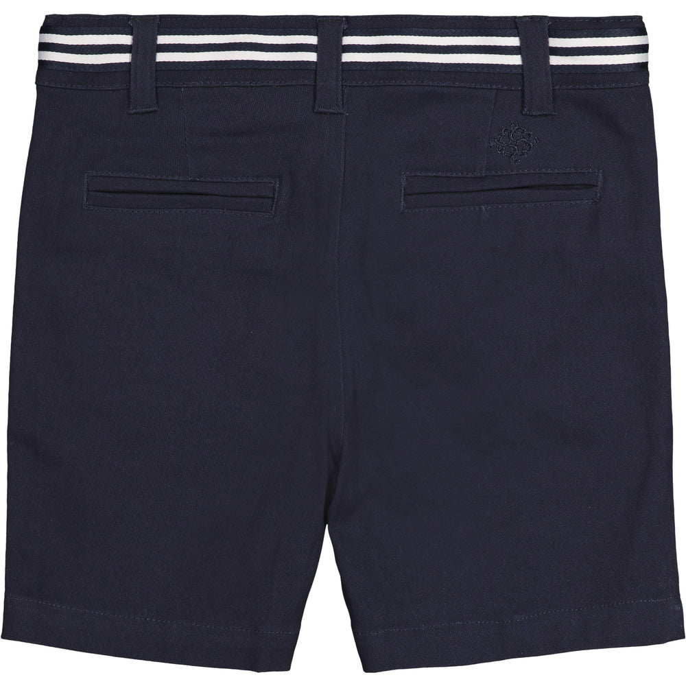 Boys Navy Twill Shorts - Andy & Evan
