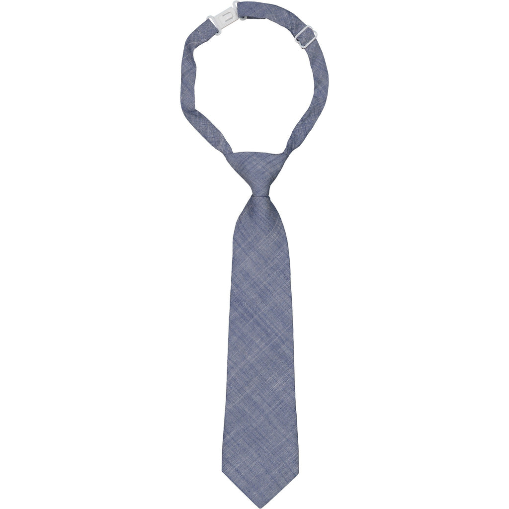 Chambray Tie - Andy & Evan