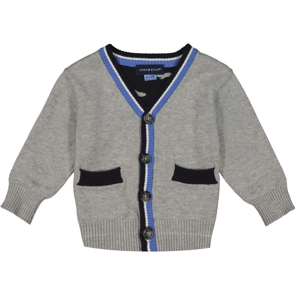 Shark Varsity Cardigan - Andy & Evan