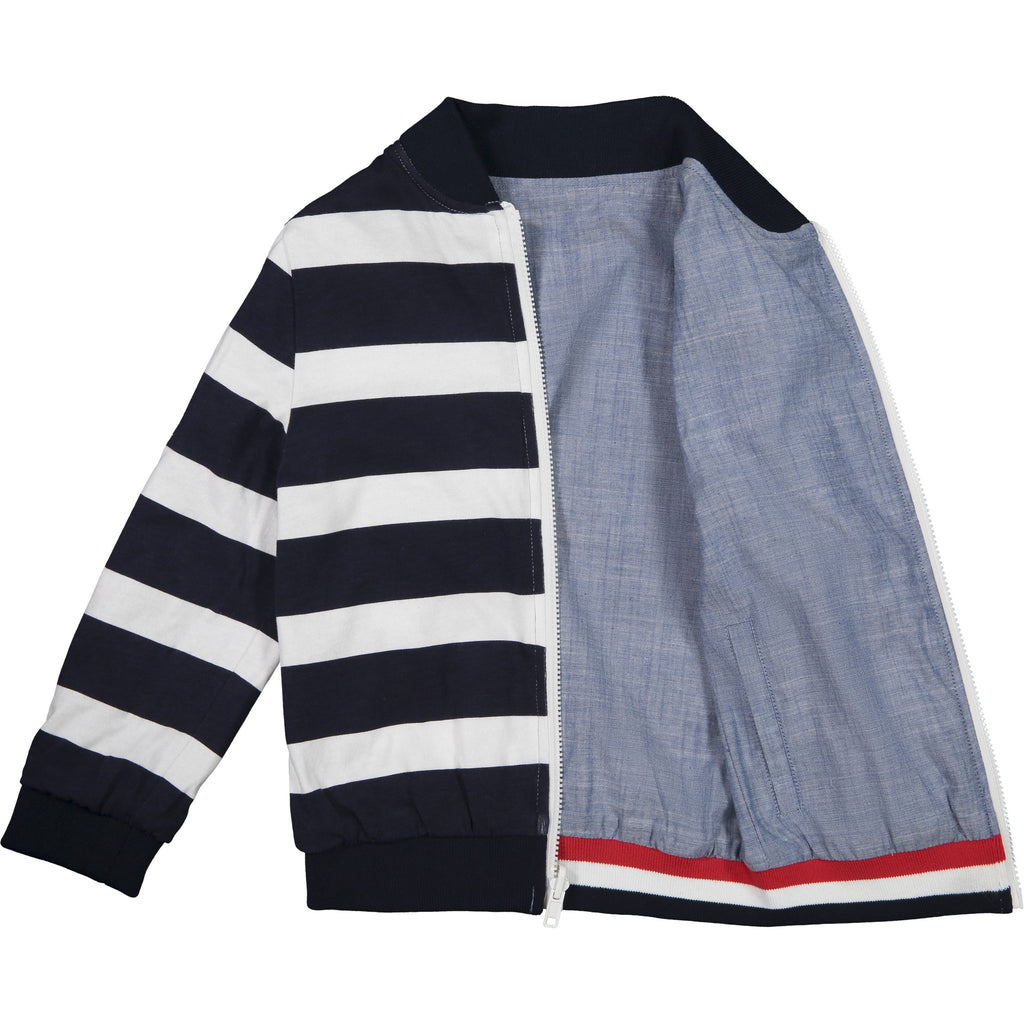 Baby Boys Reversible Bomber Jacket - Andy & Evan