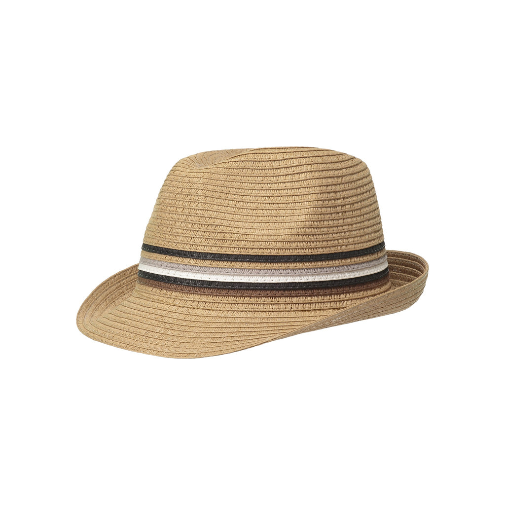 Dark Beige Fedora - Andy & Evan