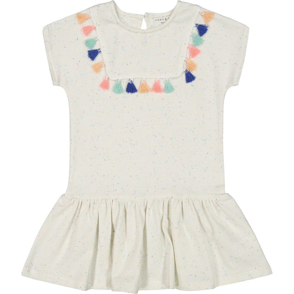 Girls Tassel Dress - Andy & Evan