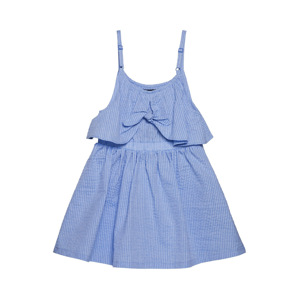 Girls Tie Front Dress - Andy & Evan