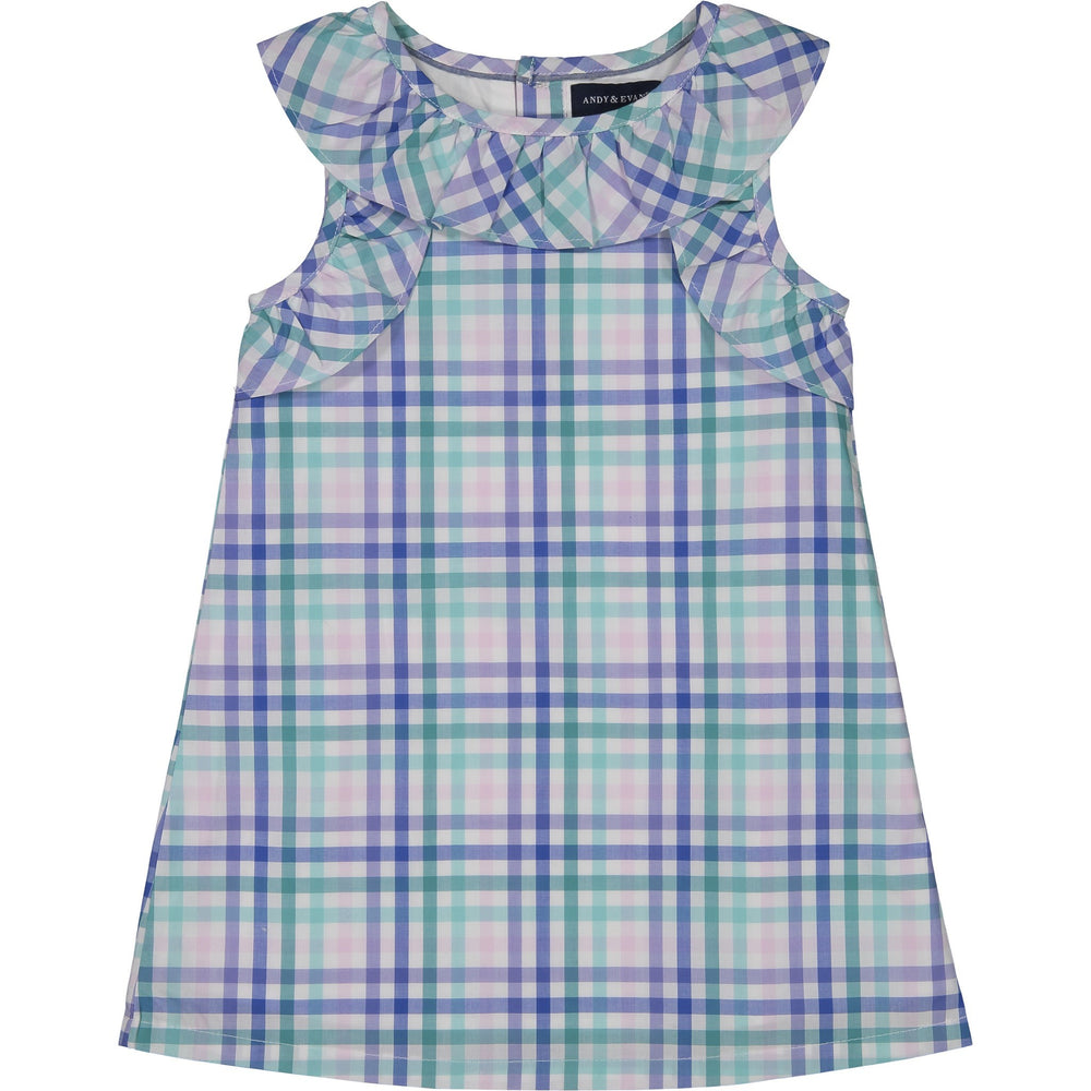 Girls Gingham Dress - Andy & Evan