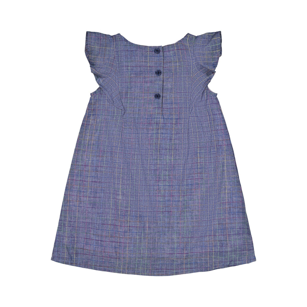 Girl's Multi Color Pane Dress - Andy & Evan