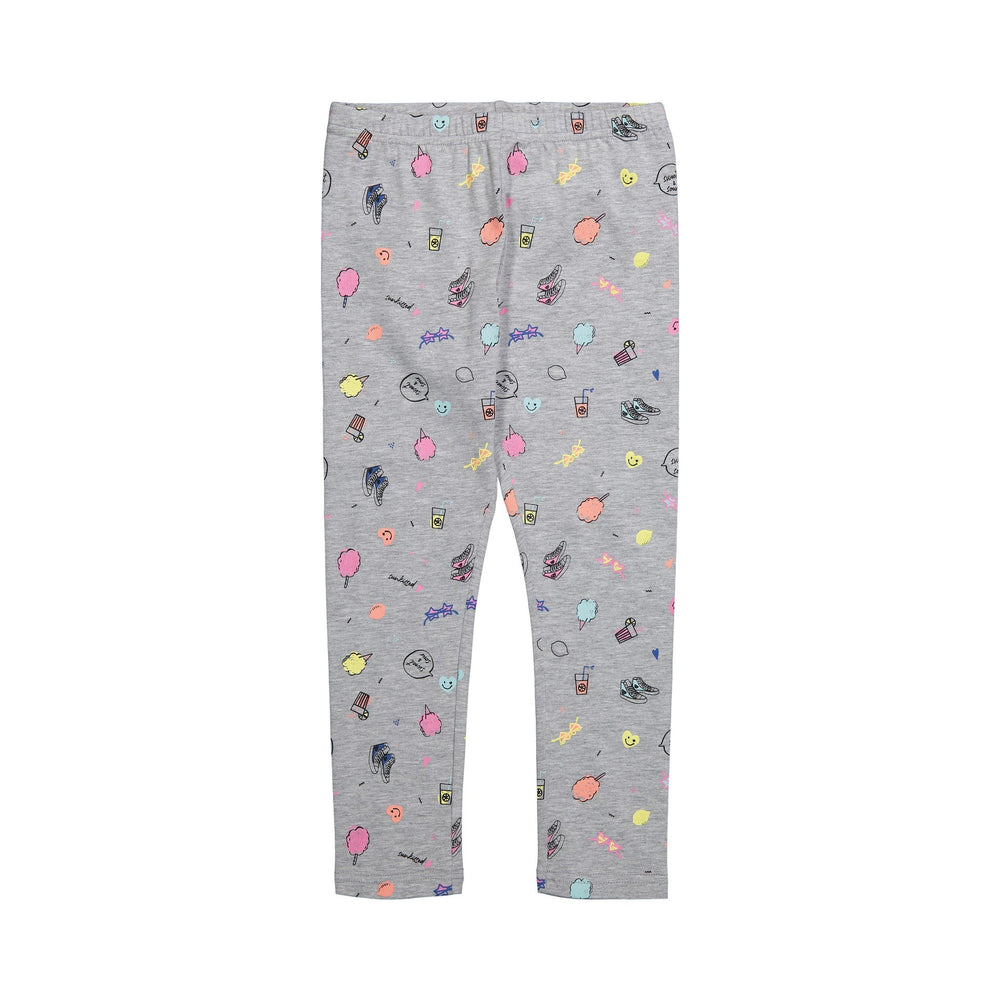 Girl's Yummy Boardwalk Leggings - Andy & Evan