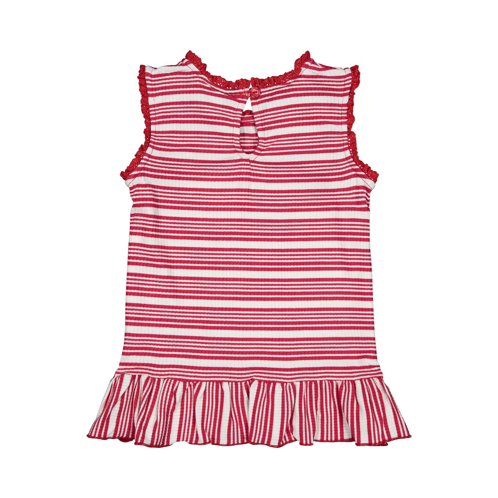 Girl's Ribbed Tank Top - Andy & Evan