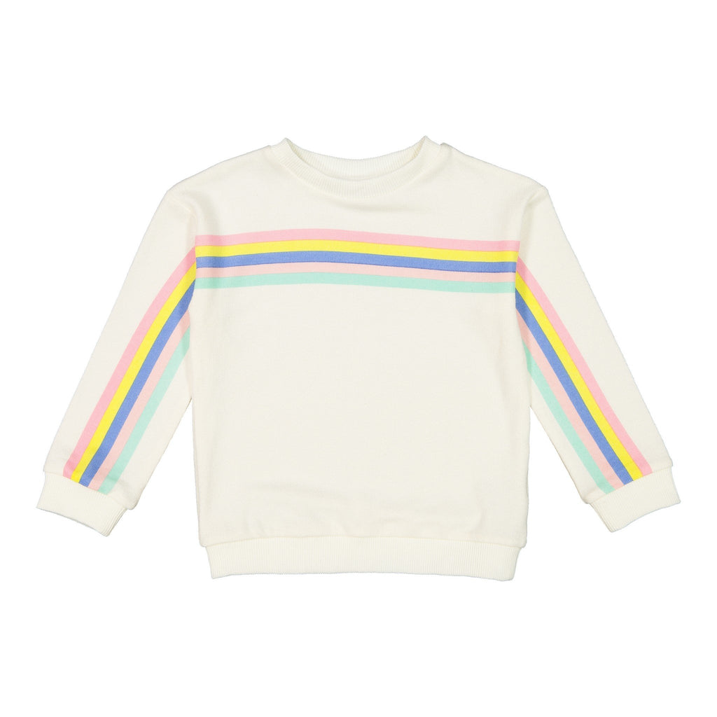 Girl's Brushed Knit Sweatshirt - Andy & Evan
