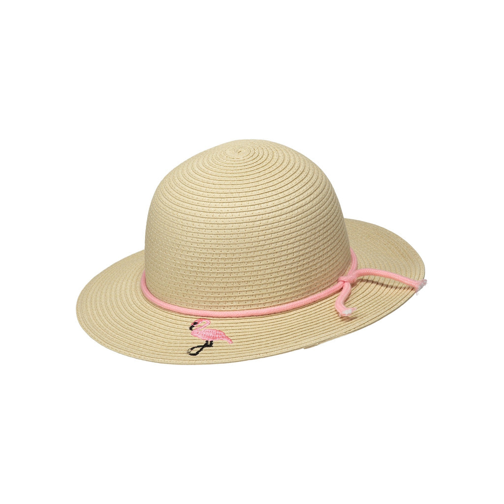 Flamingo Straw Hat - Andy & Evan
