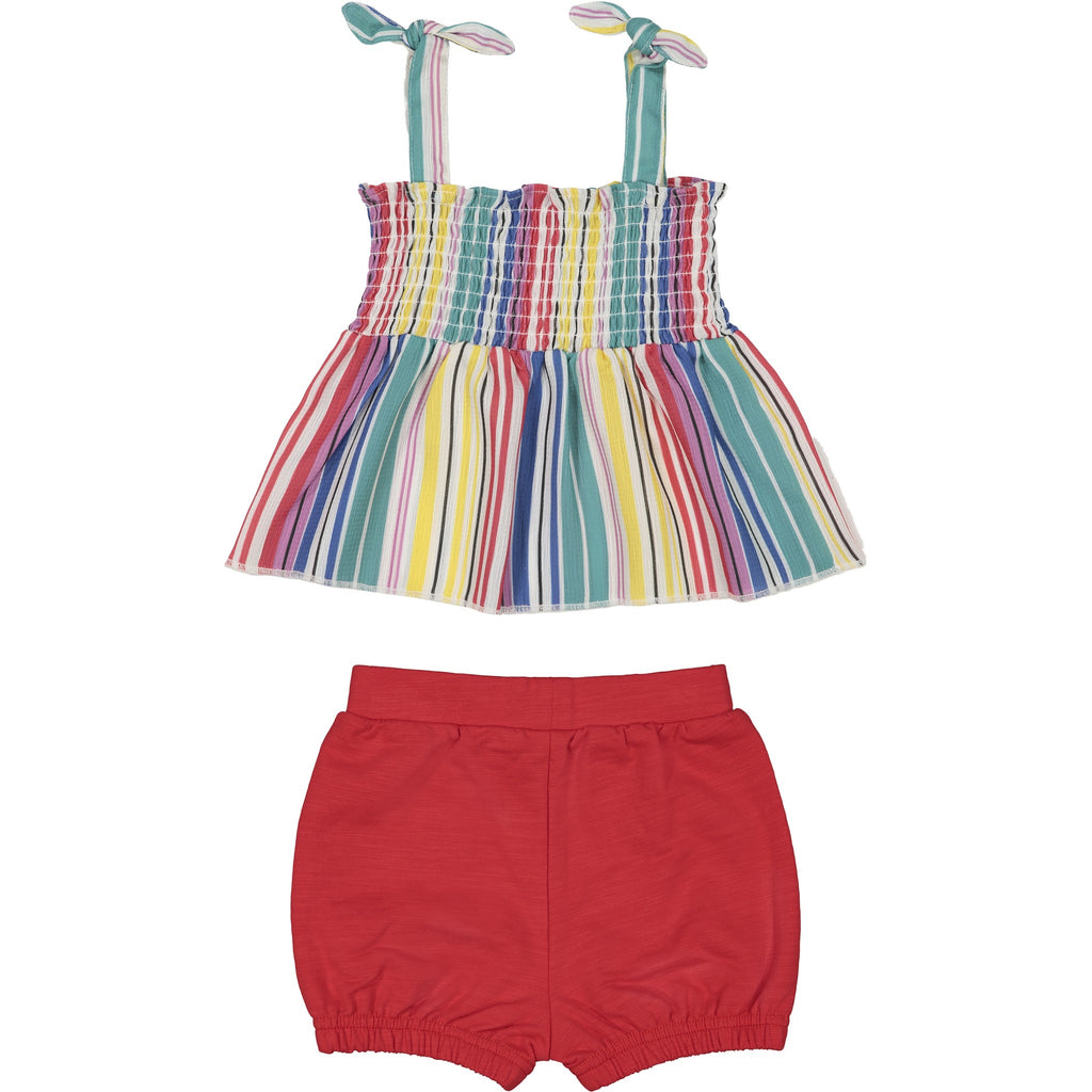 Baby Girl Stripe Tank Set - Andy & Evan