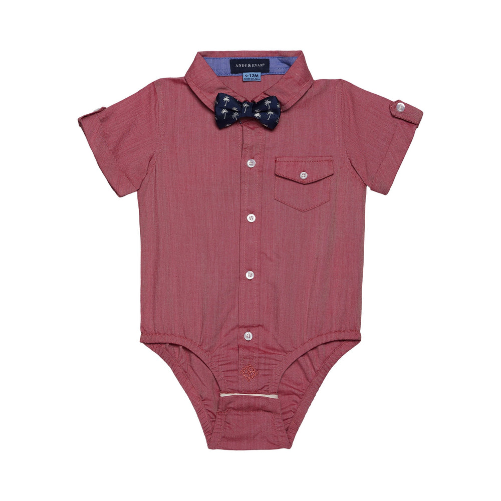 Baby Boys 3-Piece Red & Blue Sunny Day Set - Andy & Evan