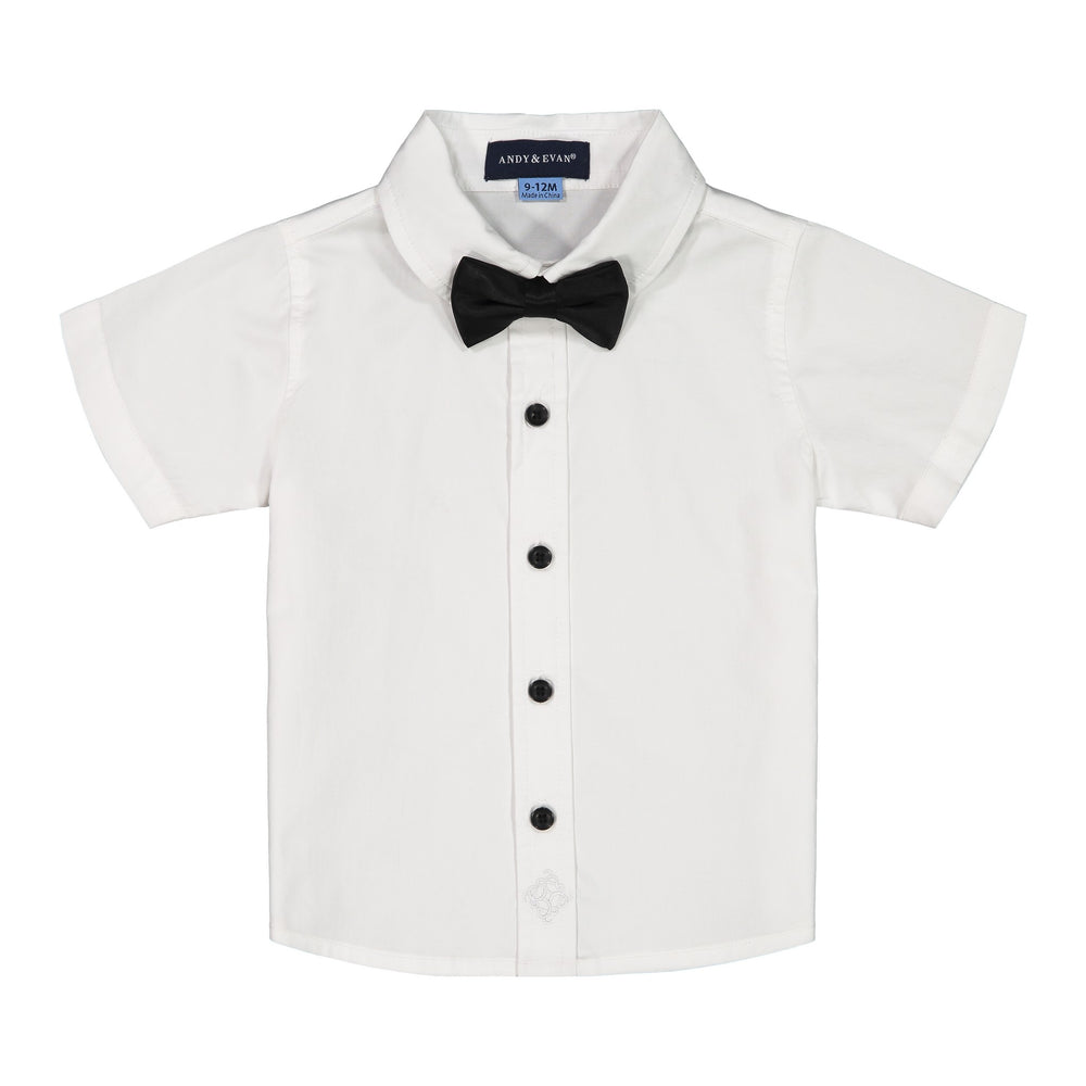 Baby Boys Tuxedo Shirt  Set - Andy & Evan
