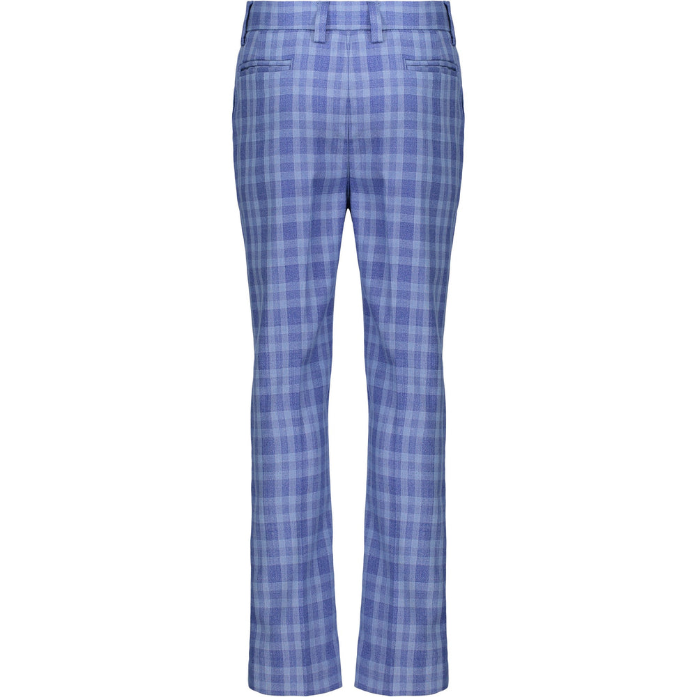 Boys Blue Check Suit Set - Andy & Evan