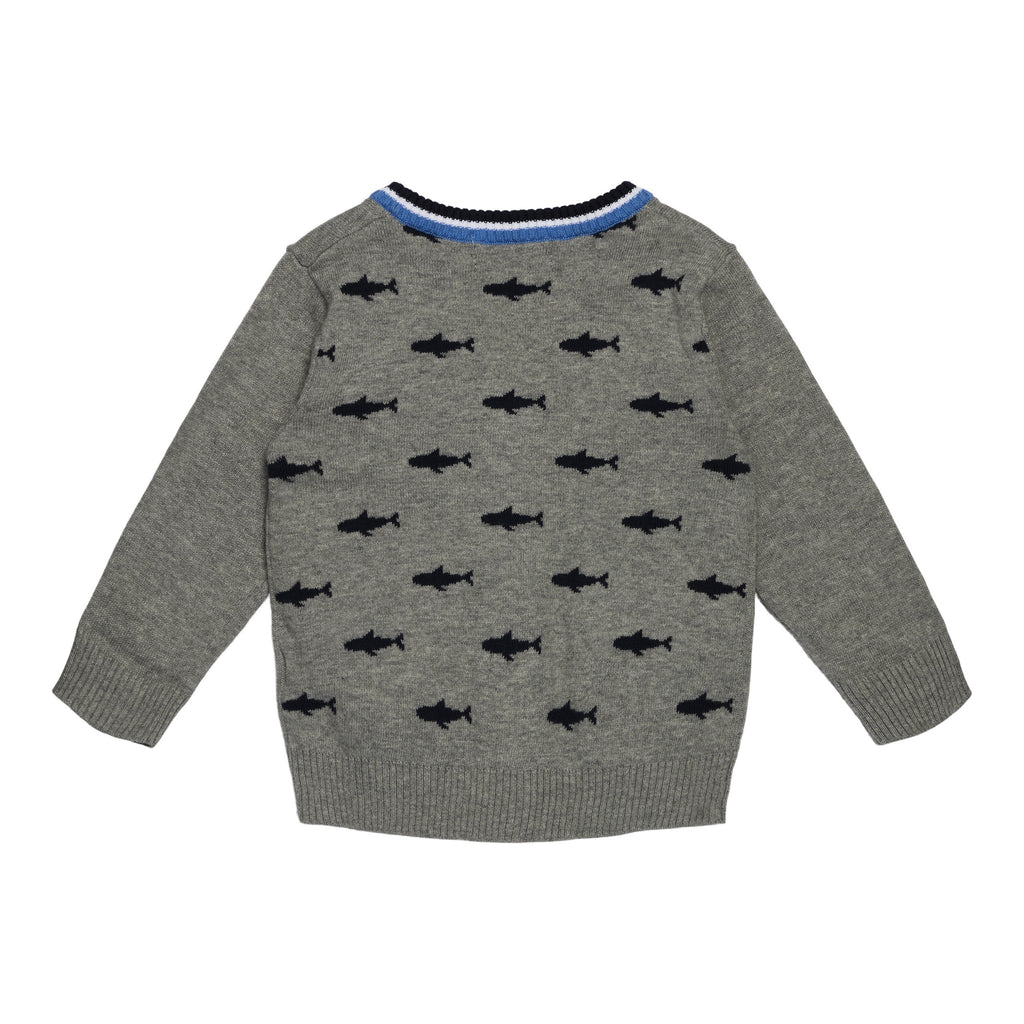 Baby Boys Shark Cardigan Set - Andy & Evan