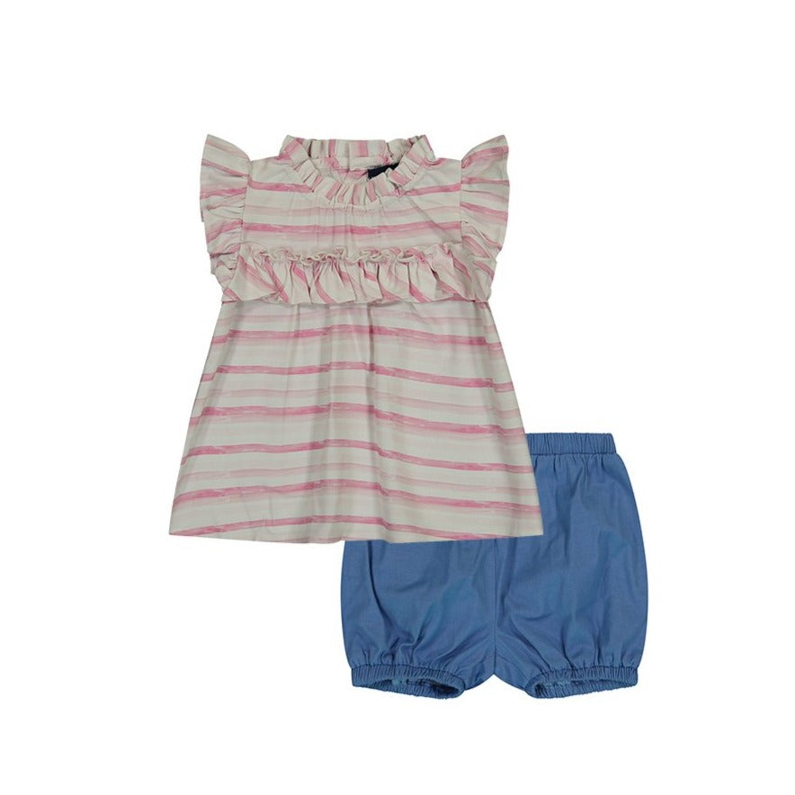 Baby Girls Shorts Set - Andy & Evan
