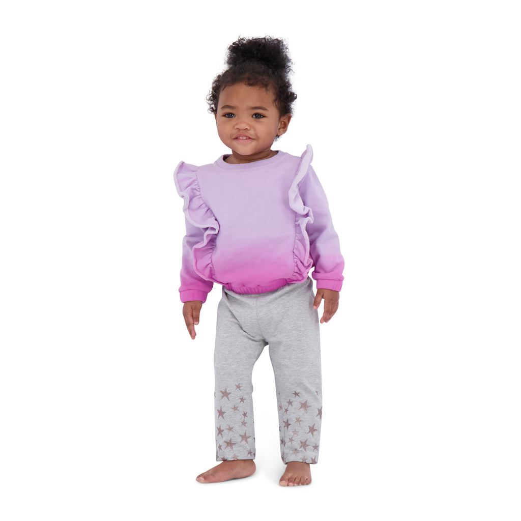 Baby Ruffle Sweatshirt Legging Set - Andy & Evan
