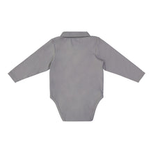 Load image into Gallery viewer, Grey Polo Shirtzie Set - Andy & Evan