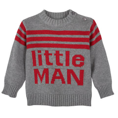 Little Man Infant Sweater Set